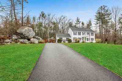Goffstown Single Family Home Active Under Contract: 36 Parsons Drive