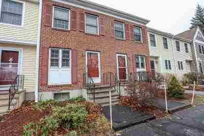 Manchester Condo/Townhouse Active Under Contract: 155 Fox Hollow Way #155