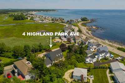 Rye Single Family Home For Sale: 4 Highland Park Avenue