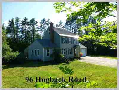 Campton Single Family Home For Sale: 96 Hogback Road