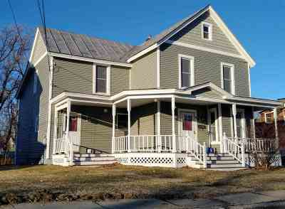 St. Albans City Single Family Home Active Under Contract: 64 Ferris Street