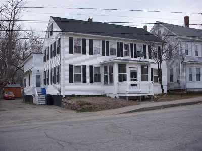 Somersworth Multi Family Home For Sale: 49-51 Franklin Street