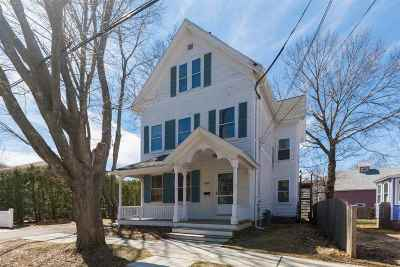 Portsmouth Single Family Home Active Under Contract: 292 Wibird Street