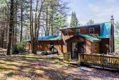 Milton Single Family Home For Sale: 376 East Road