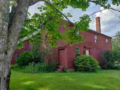 Sandwich Single Family Home For Sale: 1 School House Road