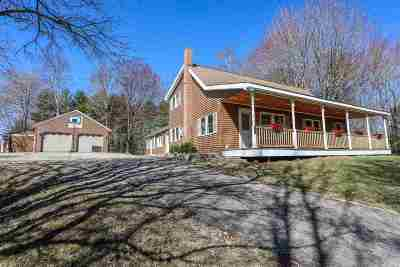 Goffstown Single Family Home Active Under Contract: 455 Tibbetts Hill Road