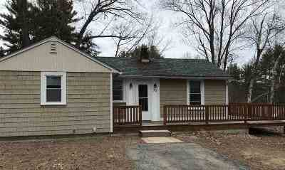 Goffstown Single Family Home For Sale: 39 Lynchville Park Road