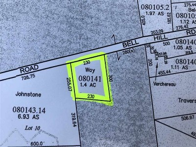Grand Isle Residential Lots & Land For Sale: 45 Bell Hill Road