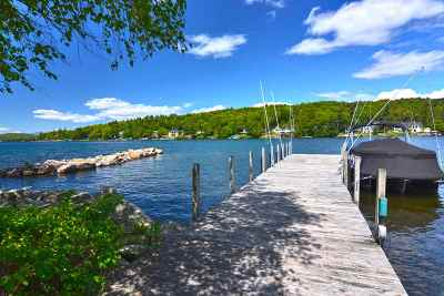 Laconia Single Family Home For Sale: 191 Wentworth Cove Road #181, 184