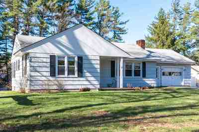Goffstown Single Family Home For Sale: 47 Shirley Park Road