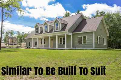 Strafford County Single Family Home For Sale: 133 Smoke Street #Lot 4
