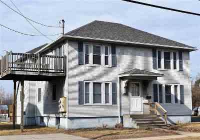 Rutland City VT Single Family Home For Sale: $133,000