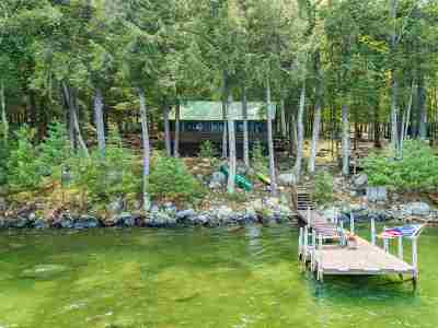Meredith Single Family Home For Sale: 27 Bear Island