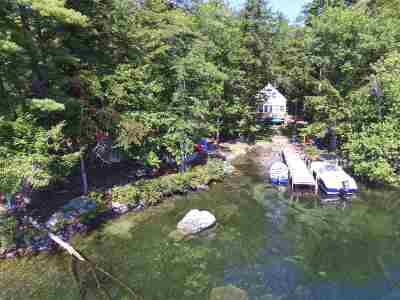 Tuftonboro Single Family Home For Sale: 105 Cow Island