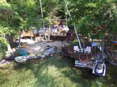 Tuftonboro Single Family Home For Sale: 107 Cow Island