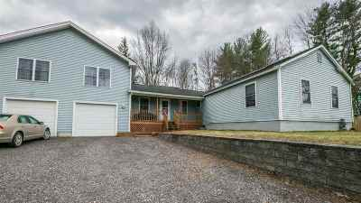 Chittenden County Single Family Home For Sale: 93 Pinecrest Drive