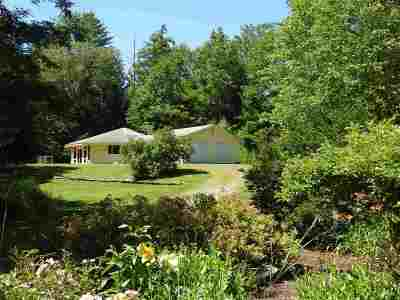 Poultney Single Family Home Active Under Contract: 2130 Vermont 30s Route