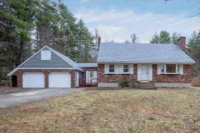 Candia Single Family Home Active Under Contract: 40 Hook Road