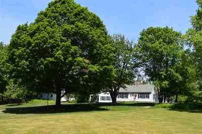 Wolfeboro Single Family Home For Sale: 100 College Road