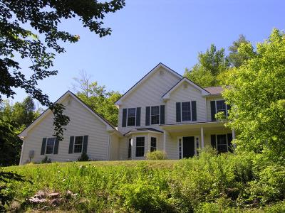 Rutland Town Single Family Home For Sale: 2761 East Pittsford Road
