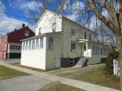 Vergennes Single Family Home Active Under Contract: 13 South Water Street