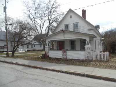 Montpelier Single Family Home Active Under Contract: 14 Vine Street