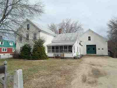 Conway Single Family Home For Sale: 1650 East Main Street