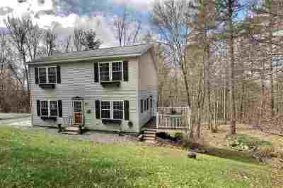Henniker Single Family Home For Sale: 85 Morse Circle