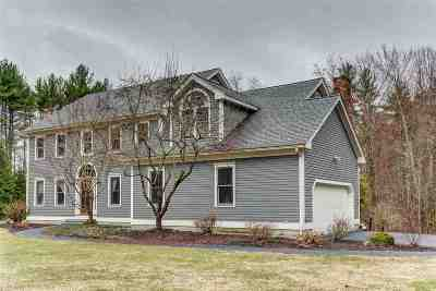 Hopkinton Single Family Home Active Under Contract: 616 Upper Straw Road