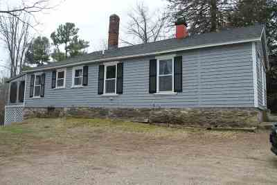 Derry Single Family Home For Sale: 55 Chester Road
