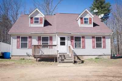 Sanbornton Single Family Home For Sale: 4 Doctor True Road