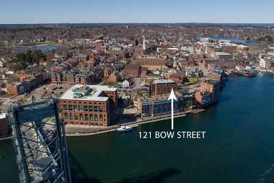 Condo/Townhouse For Sale: 121 Bow Street #1A