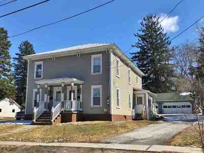 St. Albans City Multi Family Home For Sale: 107-109 Lincoln Avenue