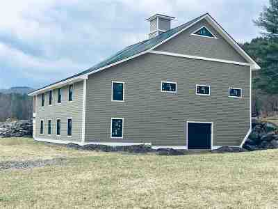 Single Family Home For Sale: 140 Vermont Route 110
