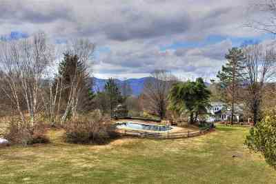 Stowe Single Family Home For Sale: 948 North Hollow Road