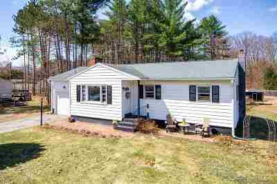 Essex Single Family Home Active Under Contract: 152 Sand Hill Road