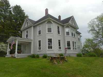 Lancaster Single Family Home For Sale: 77 Bunker Hill Street