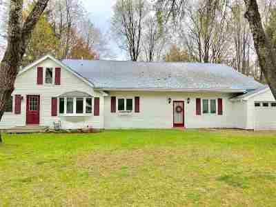 Essex Single Family Home For Sale: 12 Ira Allen