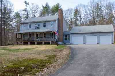 Weare Single Family Home Active Under Contract: 277 Colby Road