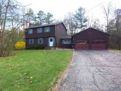 Amherst Single Family Home Active Under Contract: 9 Douglas Drive
