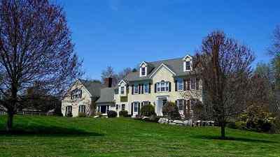 Hampton Falls Single Family Home For Sale: 61 Brown Road