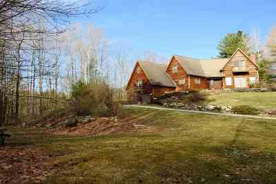 Chittenden Single Family Home Active Under Contract: 285 Holden Road