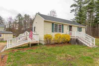 Strafford Single Family Home For Sale: 80 Bow Lake Estates Road