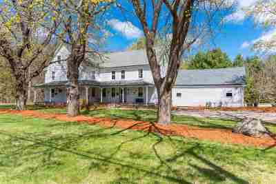 Merrimack Single Family Home Active Under Contract: 143 Baboosic Lake Road