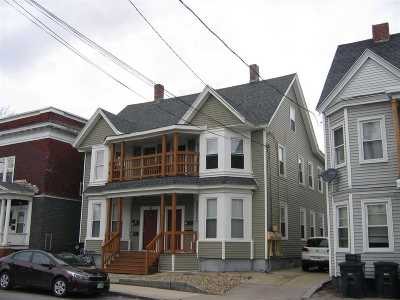 Nashua Multi Family Home Active Under Contract: 59-61 Kinsley Street
