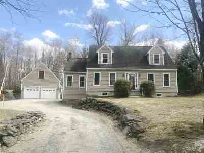 Littleton NH Single Family Home Active Under Contract: $289,000