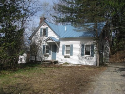 Lisbon Single Family Home Active Under Contract: 79 Landaff Road