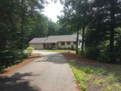 Center Harbor Single Family Home For Sale: 34 Keyser Road