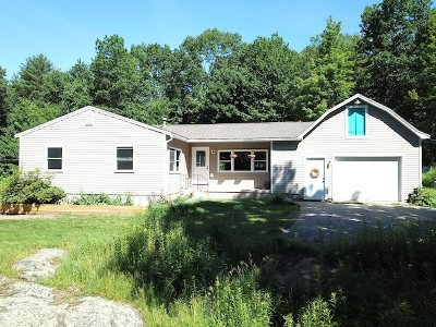 Pembroke Single Family Home Active Under Contract: 114 Dudley Hill Road
