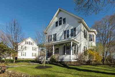 Single Family Home For Sale: 390 South Street